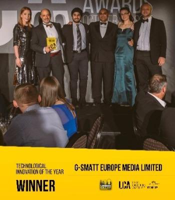 G-SMATT Media Glass, Technological Innovation of the year